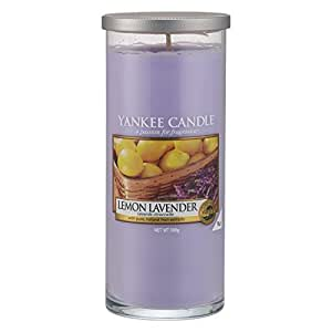 yankee candle zitrone und lavendel duftkerze gro e amazon. Black Bedroom Furniture Sets. Home Design Ideas