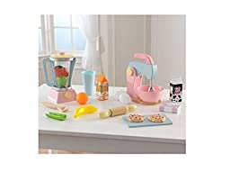Sturdy and Affordable KidKraft Pastel Smoothie & Baking Set