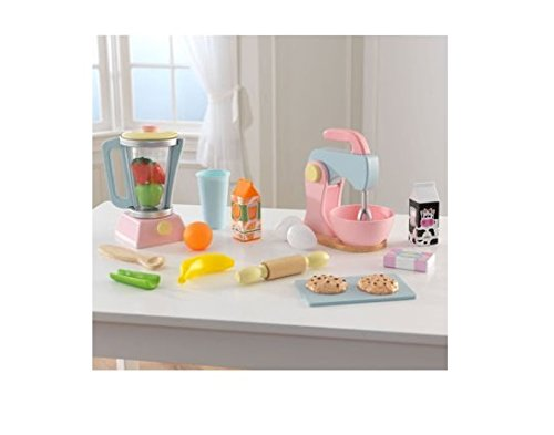 Sturdy and Affordable KidKraft Pastel Smoothie & Baking Set (Kidkraft Mixer compare prices)