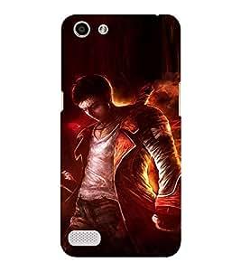 EPICCASE Action guy Mobile Back Case Cover For OPPO Neo 7 (Designer Case)
