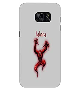 PrintDhaba Funny Image D-4195 Back Case Cover for SAMSUNG GALAXY S7 (Multi-Coloured)