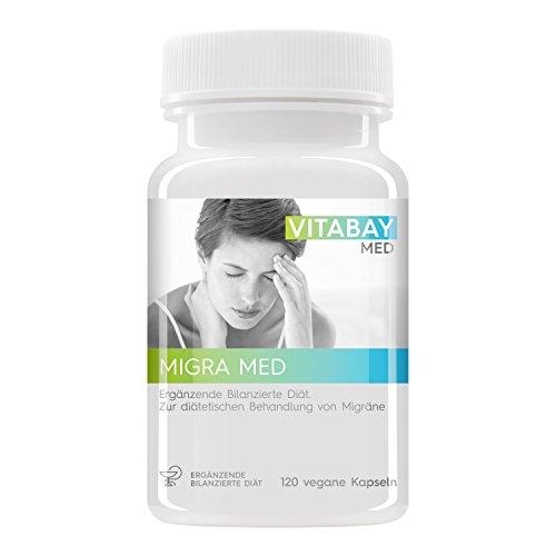 Migra MED - 750 mg Pestwurz Extrakt mit 200 mg Mutterkraut -...