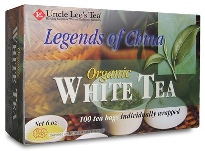 Legends Of China Organic White Tea-100 Bags Brand: Uncle Lees Tea