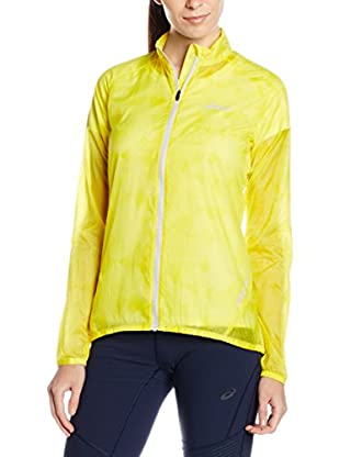 Asics Chaqueta Feather Weight (Amarillo)