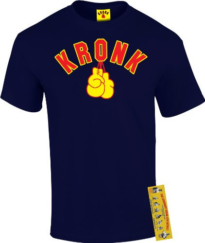 Boxing Gym Kronk, Detroit, u.wht Men's T-shirt. Klitschko, Thomas Hearns, Lennox Lewis. blu Medium
