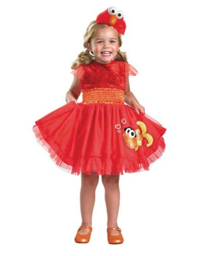 unisex-baby - Elmo Frilly Toddler Costume 2T Halloween Costume