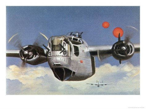 During World War Two an American B-24