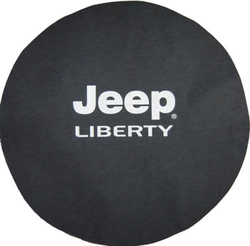 Jeep® Liberty Logo Black Denim Tire Cover