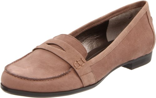 Bandolino Women's Eugenie Slip-On Loafer,Taupe,8 M US