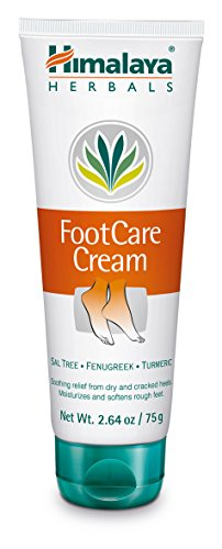 Himalaya Foot Care Cream for Dry and Cracked Heels, 2.64 Oz. / 75 g (Fenugreek Extract Cream compare prices)