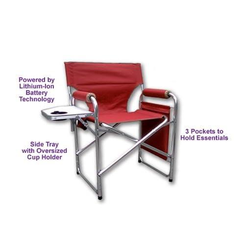 TempaChair Battery Powered Heated Folding Chair   Choice