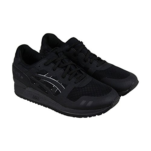 ASICS GEL Lyte III NS Retro Running Shoe, Black/Black, 11 M US