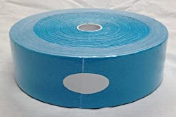 Therapist\'s Choice® Kinesiology Tape Bulk Roll (2-Inch x 105-Feet) (Blue)