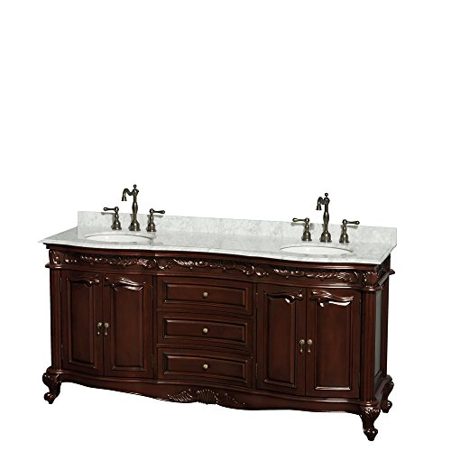 Victorian Style Bathroom Vanity front-212759