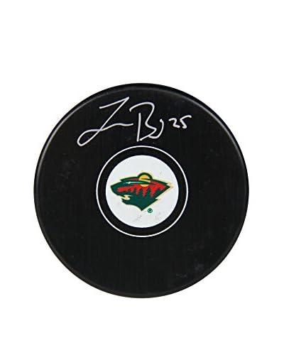 Steiner Sports Memorabilia Jonas Brodin Signed Minnesota Wild Replica Puck