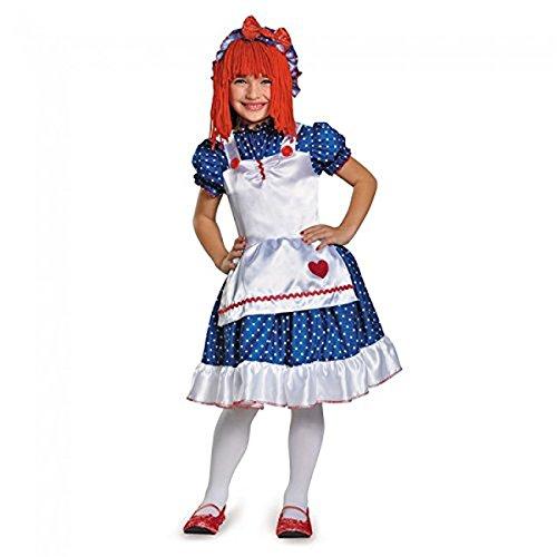 [Raggedy Ann Child's Costume - XSmall (3T-4T)] (Raggedy Ann Costume Infant)