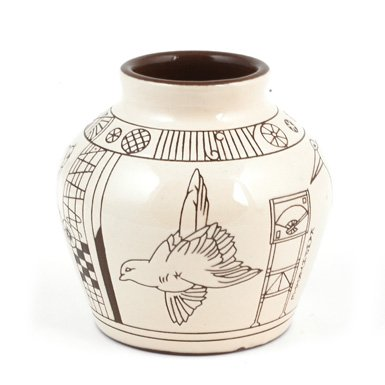 Kawphyrite Earthenware Vase (Limited Edition)