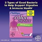 Phillips' Colon Health Daily Probiotic, 110 Capsules