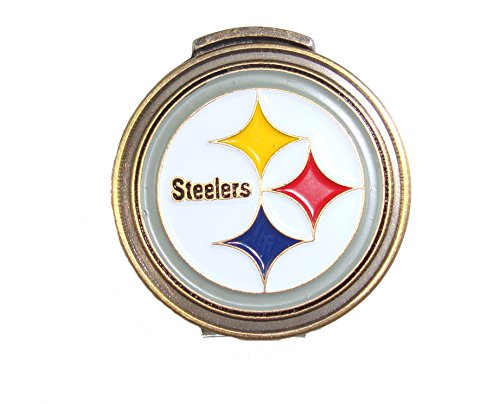 Pittsburgh Steelers Hat Clip & Golf Ball Marker