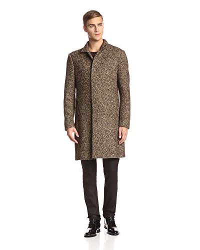 John Varvatos Collection Men's Button Front Slim Fit Coat