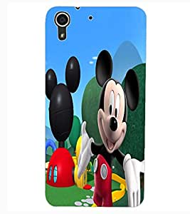 ColourCraft Lovely Cartoon Character Design Back Case Cover for HTC DESIRE 626S