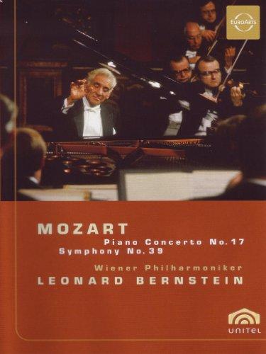 Leonard Bernstein - Mozart Piano Concerto No. 17, Symphony No. 39 [DVD] [2006]