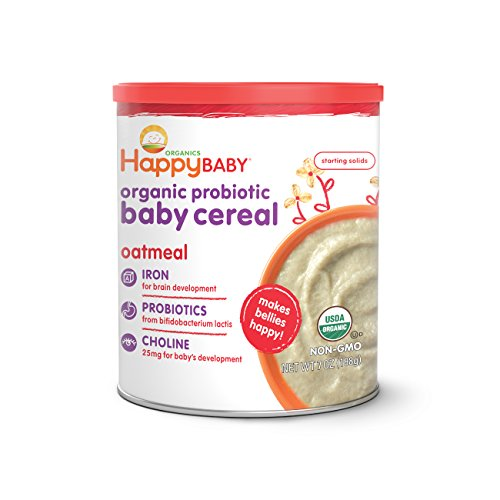 Happy Baby, Happy Bellies Organic Oatmeal Cereal, 7 oz (Dr Sears Baby Food compare prices)