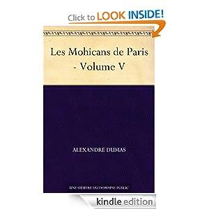 Les Mohicans de Paris - Volume V (French Edition)