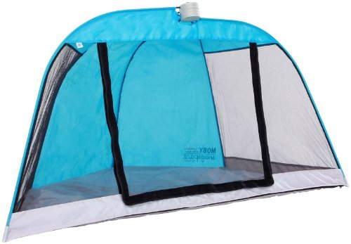 Moby Snugspace Tent - Toddler - Aqua front-505664