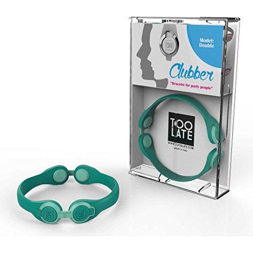 bracciale unisex gioielli Too late Clubber trendy cod. 8052745222485