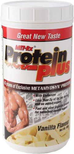MET-Rx Protein Plus 900 g Vanilla Muscle Building Drink Powder
