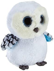 TY 7136978 - Spells Buddy - Schneeeule weiß, Large 24 cm, Beanie Boos, Glubschis
