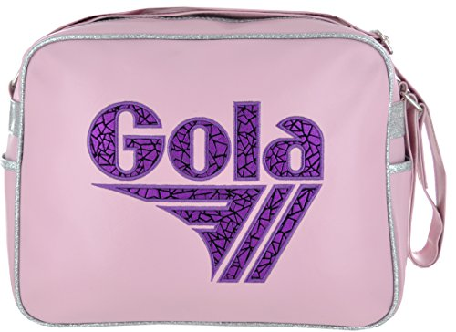 Borsa GOLA Redford Metallic Geo Type - ZCUB905Kv 36x27 - Light Pink/Purple
