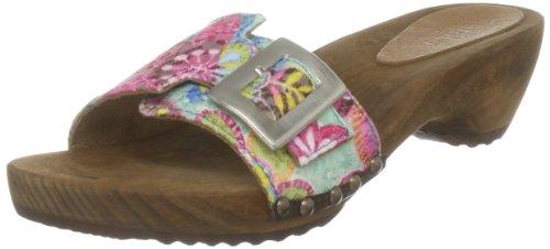 Sanita Women's Elisa Turquoise Slides Sandal