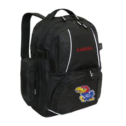 NCAA Kansas Jayhawks Trooper Backpack (Pocketbook Display compare prices)