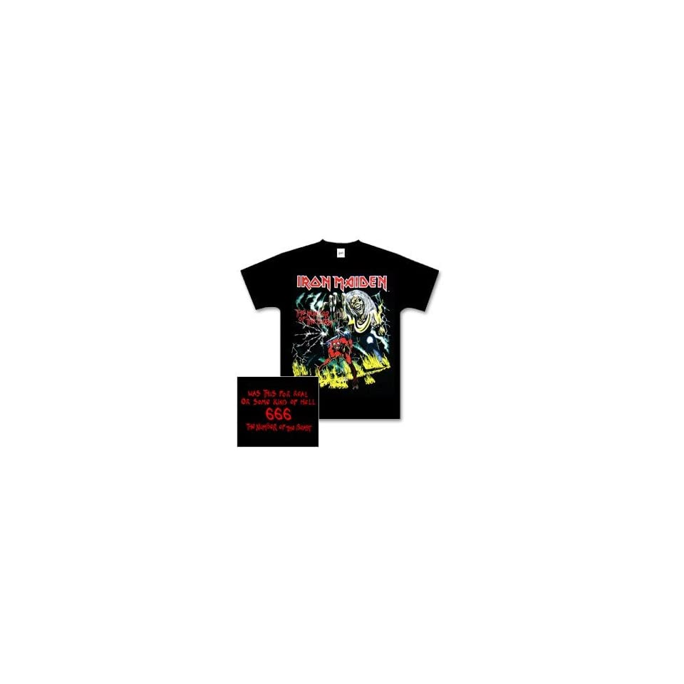 Iron Maiden T Shirt The Number of the Beast