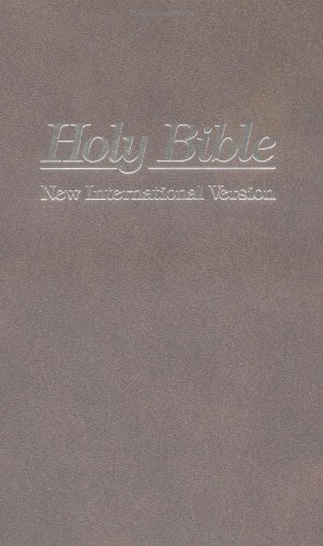 Cover of NIV Holy Bible