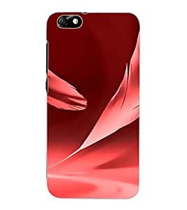 ColourCraft Pink Feather Design Back Case Cover for HUAWEI HONOR 4X