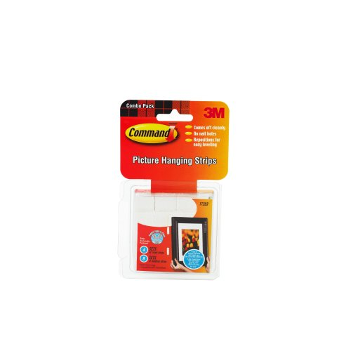 3M Command 17203 Small and Medium Picture Hanging Strips