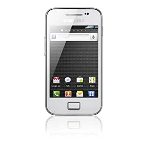 Samsung Galaxy Ace S5830i Smartphone (8,9 cm (3,5 Zoll) Touchscreen, 5 Megapixel Kamera, Android Betriebssystem) pure-white