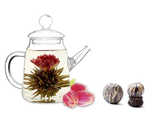 Tea Beyond Blooming Teapot Gift Set Duo Lv Gfs2001-2
