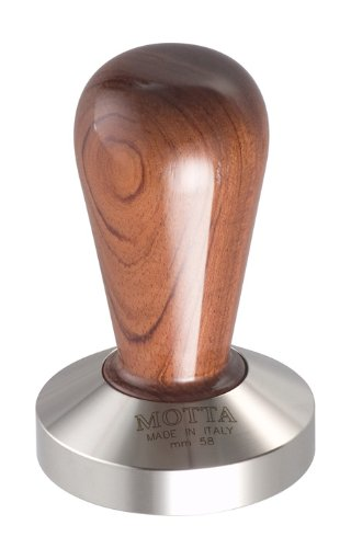 motta-110-professional-flat-base-coffee-tamper-58mm-bubinga-handle
