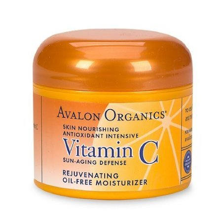 Avalon Organics Vitamin C Rejuvenating Oil-Free Moisturizer 2 Oz (57 G)