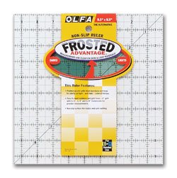 Olfa Frosted Ruler 9.5
