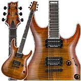 ESP H-1001 H-Series Electric Guitar Amber Cherry Sunburst Finish