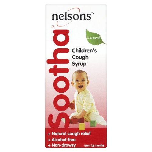Nelsons Sootha Natural Children's Cough Syrup - 150 ml