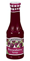 Smucker\'s  Boysenberry Syrup, 12-Ounce Glass (Pack of 6)