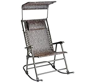 Amazon Com Bliss Hammocks Deluxe Foldable Rocking Chair