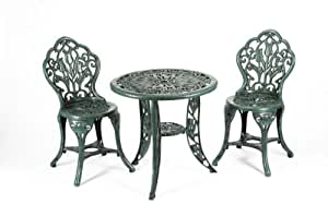 Greenhurst Tulip 2 Seater Bistro Set, with Table