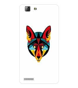 EPICCASE Artistic animal Mobile Back Case Cover For LENOVO A6600 (Designer Case)